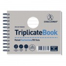 Challenge Wirebound Triplicate Book Ruled Carbonless 50 Sets 105 x 130mm (Pack of 5) 100080472