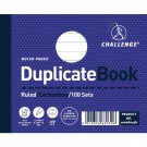 Challenge Carbonless Ruled Feint Duplicate Book 105x130mm 100080487