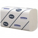 Kleenex Ultra 2-Ply White Hand Towel Pack Of 124 6769 - Paper Hand Towels