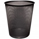 Q-Connect Black Mesh Waste Basket KF00871