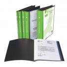 Q-Connect Black 10-Pocket Presentation Book KF01263