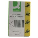 Q-Connect Assorted Sign Here Page Markers KF01979