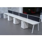 IONTACH SINGLE BENCH DESK ADD-ON WHITE