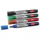 Nobo Assorted Pack Of Liquid Ink Dry Wipe Markers 1901077
