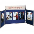 Nobo Mini Desktop Display Kit Blue 35231470