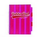 Pukka Pad Vogue Wirebound Project Book A4 Pink (Pack of 3) 8537-VOG