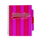 Pukka Pad Vogue Wirebound Project Book A5 Pink (Pack of 3) 8539-VOG