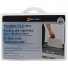 Rexel Non Auto oiling Oil Sheets 2101949 (Pack of 20)