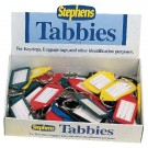 Stephens Tabbies Keying Display Pack Of 50 RS521211 - Key Fobs