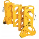 Newell Yellow  Mobile Barricade 9S11-00-Yel