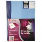 Rexel Nyrex-80 Project File A4 Blue (Pack of 5) 13045BU
