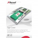 Rexel Standard Matte A4 Sign Cover (Pack of 10) 2104252
