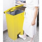 Step On Waste Container 30.5 Litre Yellow 313503