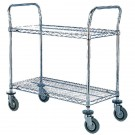 2 Tier Chrome Trolley 457x1070mm 329017