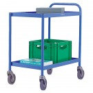 2 Tier Blue General Purpose Trolley 331491