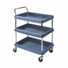 Microban 2 Tier H1041xW832xD546mm Deep Ledge Trolley 360966