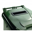 Confidential Waste Wheelie Bin 240 Litre Green 377916