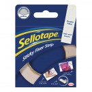 Sellotape Sticky Fixers Strip 25mm x 3 Meters 484330 - Adhesive Strips
