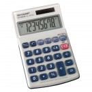 Sharp Hand Held Calculator 8-Digit EL240SAB