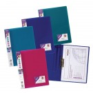 Snopake ClampBinder A4 Electra Assorted (Pack of 10) 12790