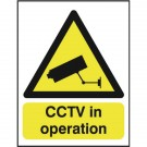 CCTV In Operation A5 PVC Warning Sign GN00751R - CCTV Surveillance Signs
