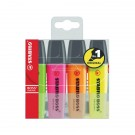 Stabilo Boss Wallet Of Assorted Highlighter Pens HI4037