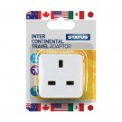Status Intercontinental Travel Adaptor (Pack of 12) SINTERAB12