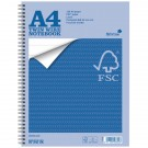 Silvine 52 Leaf A4 Twin Wire Notebook FSCTW80 (FMS)