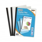 Tiger Clear Clipbar A4 Files (Pack of 36) 301669