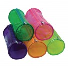 Clear Cylinder Tinted Pencil Case (Pack of 12) 301853