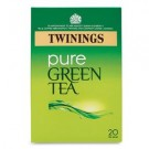 Twinings Pure Green Tea Individually Wrapped Tea Bags (Pack of 20 Tea Bags) Ref A06691