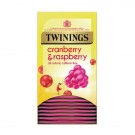 Twinings Cranberry, Raspberry & Elderflower Infusion Tea Bags