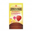 Twinings Strawberry and Raspberry (Pack of 20) F14906