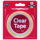 Postpak Clear Stickytape 66m (Pack of 24) 502183935910