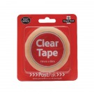Postpak Clear Stick Tape 66m (Pack of 12)