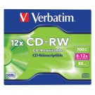 Verbatim CD-RW 700MB 8-12X Hi-Speed (Pack of 10) VM31480