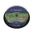 Verbatim Cd-Rw Datalife Plus 80 Minutes 8-12x Hi-Speed Spindle 43480