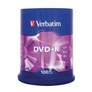 Verbatim DVD+R 16x Non Printable Spindle 43551