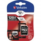 Verbatim Premium SDXC Micro Card With Adapter 128GB 44085