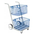 GoSecure Major Mail Trolley Silver MT2SIL