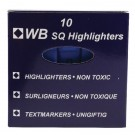 Higlo Blue Highlighters WX01114 - Highlighter Pens