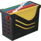 Atlanta Res Recycled Office Box Complete with 5 File - File Storage Boxes