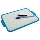 Bic Velleda Blue Frame Dry Wipe Board 190 x 260mm 002183