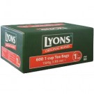 Lyons Green Label 600 1 Cup Lyons Tea Bags