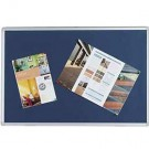Q-Connect Aluminium Frame Blue Notice Board 1200 x 900mm KF01077