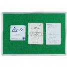 Q-Connect Aluminium Frame Green Notice Board 900 x 600mm