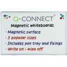 Q-Connect Magnetic Dry Wipe Board 1200 x 900mm KF01080