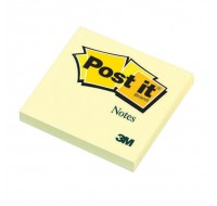 3M Yellow Post-it Notes 76x76mm 654Y