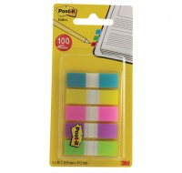 3M Post-it Small Portable Assorted Index 683-5CBINDEX - File Folders Tabs