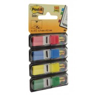 3M Standard 4 Colour Post-it Index Refills 683-4 - File Folders Tabs